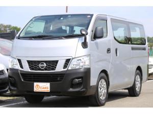 日産 NV350キャラバンバン ロングDX ガソリン 5ドア 低床 日産純正ナビ ETC
