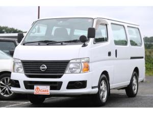 日産 キャラバン ロングDX 4WD 軽油ターボ 5ドア 低床