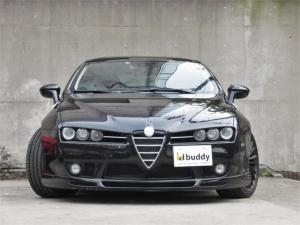 アルファロメオ アルファブレラ 3.2 JTS Q4 スカイウインドウ/左ハンドル/6速MT/黒革シート/シートヒーター/HDDナビ/地デジ/HID/ETC/ビルシュタイン車高調/アーキュレーエキゾースト/正規ディーラー車