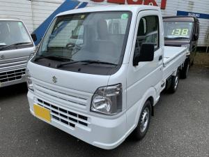 スズキ キャリイトラック KCエアコン・パワステ 4WD 5MT 届出済未使用車 マット付