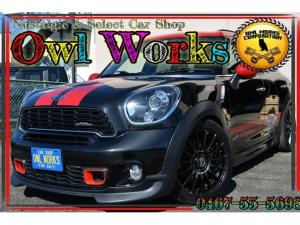 MINI ジョンクーパーワークス クロスオーバー ALL4 OZレーシングホイール 18AW  BLITZ車高調 JCW専用オプションがもりだくさん カロッツェリア2DINナビand地デジ ALL4 4WD
