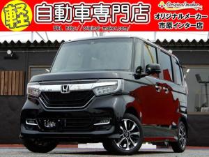 ホンダ N-BOXカスタム G・Lホンダセンシング 改良型 シートヒーター届出済未使用車