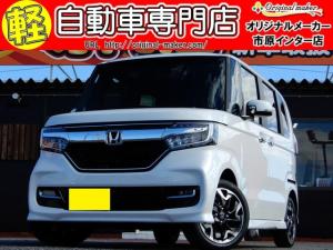 ホンダ N-BOXカスタム G・Lターボホンダセンシング シートヒーター 両側電動ドア