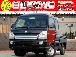 スズキ スーパーキャリイ X 4WD 3AT HIDヘッドライト装着車 キーレス