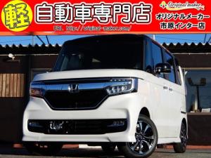 ホンダ N-BOXカスタム G・Lホンダセンシング ETC LEDライト シートヒーター