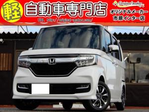 ホンダ N-BOXカスタム G・Lホンダセンシング 届出済未使用車 シートヒーターLED