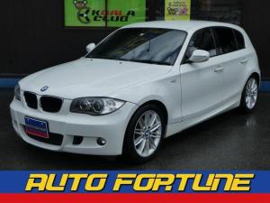 BMW 1シリーズ 116i Mスポーツパッケージ ハーフレザーシート アルミ ETC