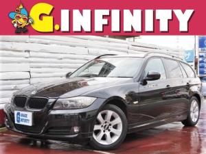 BMW 3シリーズ 320iツーリング ・取説/保証書・純正HDDナビ・HIDライト・バックカメラ・ETC・コンフォートアクセス・BBS16インチアルミ・ルーフレール・Tチェーン