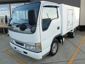 いすゞ エルフバン フラットロー 冷蔵 冷凍車 積載量1600KG 最大マイナス30度まで設定 バティリー新品