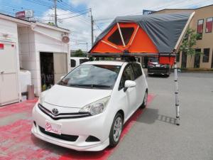 トヨタ ラクティス レピス ルーフテント装着車 クルコン キーレス 2人就寝可能ルーフテント付新品 クルーズコントロール フロントスポイラー 社外ブルートュース付オーディオ
