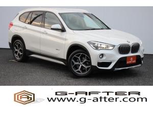 BMW X1 sDrive 18i xライン 純正ナビBカメラ衝突軽減クルコン障害物センサーHIDETC純正18AW