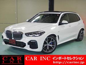 BMW X5 xDrive 35d Mスポーツ ドライビングダイナミクスパッケージ プラスパッケージ 電動ガラスサンルーフ 21インチライトアロイYスポーク741M ストライプブラウンウッドインテリアトリム