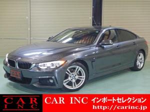 BMW 4シリーズ 420iグランクーペ Mスポーツ ワンオーナー アダプティブLEDヘッドライト ACC/アクティブクルーズコントロール インテリジェントセーフティ コーラルレッドダコタレザーシート シートヒーター