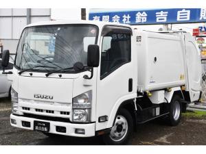 いすゞ エルフトラック  2t巻込み式パッカー G-RX 汚水タンク付