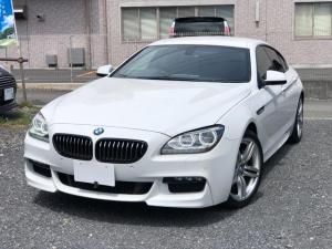 BMW 6シリーズ 640iグランクーペ Mスポーツパッケージ 純正ナビテレビ バックカメラ 黒革シート LEDライト コナーソナー ミラーETCシートヒーター