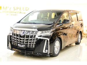トヨタ アルファードハイブリッド HV SR 新型3眼LED ディスプレイナビ ドラレコ