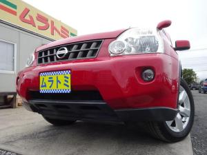日産 エクストレイル 20Xtt 4WD HDDナビ ワンセグTV バックカメラ クルコン シートヒーター 純正17インチアルミホイール VDC オートライト フォグライト インテリキー 革巻きステアリング タイミングチェーン ABS
