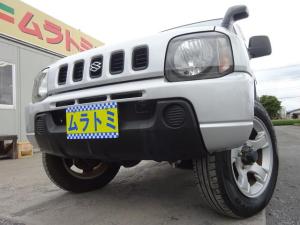 スズキ ジムニー XL 4WD ターボ 5MT車 2型 キーレスキー スペアキー タイミングチェーン 16インチアルミホイール 背面タイヤ カセットデッキ AM・FMラジオ サイドドアバイザー Wエアバック ABS