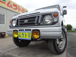 スズキ ジムニー ランドベンチャー 4WD ターボ 5MT車 1型 背面タイヤ CDデッキ 16インチホイール ABS フォグライト エアコン タイミングチェーン