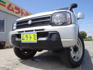 スズキ ジムニー XG 4WD 5MT車 7型 ターボ 社外CDデッキ ETC 背面タイヤ キーレスキー ヘッドライトレベライザー ABS 16インチホイール Wエアバック 取説・整備手帳