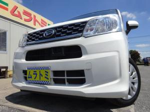 ダイハツ ムーヴ L SAII ブレーキサポート アイドリングストップ 社外CDデッキ キーレスキー 電格ミラー タイミングチェーン ベンチシート ヘッドライトレベライザー TRC ABS リヤスポイラー 取説