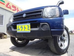スズキ ジムニー XG 4WD ターボ 5MT車 7型 キーレスキー タイミングチェーン 社外16インチアルミホイール 背面タイヤ 社外CDデッキ AUX付き サイドドアバイザー ABS ヘッドライトレベライザー