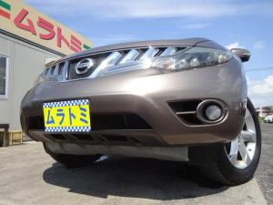 日産 ムラーノ 250XL FOUR 4WD HDDナビ Bluetooth ETC サイド・バックカメラ クルコン 革巻きステアリモコン HIDオートライト フォグライト トノカバー インテリキー プッシュスタート 電格ウィンカーミラー