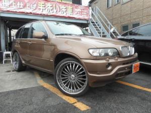 BMW X5 4.4i サンルーフ 左ハンドル サンルーフ 本革シート
