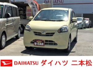 ダイハツ ミライース X エコアイドル 1オーナー 禁煙車
