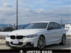 BMW 3シリーズ 320d Mスポーツ 禁煙車 ヘディングモニター ACC 純正19AW Fタイヤ2本新品交換済 インテリセーフティー社外パドルシフト 社外ドラレコ 新品フロントリップ 新品グリル 新品ミラーカバー 新品トランクスポイラー