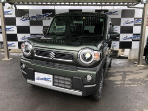 スズキ ハスラー ハイブリッドXターボ メーカーオプションナビ 全方位モニター LEDヘッドライト シートヒーター デュアルサポートブレーキ ターボ車 4WD