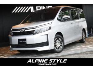 トヨタ ヴォクシー Xグレード ALPINE BIG X 車中泊ベッドキット装備