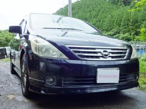 日産 プレサージュ V車検3年6月タイミングチェーンBカメラナビETCアルミ