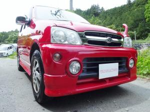 ダイハツ テリオスキッド カスタムX 1オーナー・禁煙車・ターボエンジン・4WD・5MT・フィールドメーター・ABS・ダブルエアバッグ・エアコン・CD・ナビ・ワイドドアバイザー・フルエアロ・リアウイング・フルフラットシート・アルミホイール