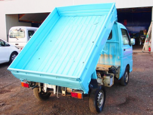 ダイハツ ハイゼットトラック ローダンプ 4WD 5MT デフロック 車検整備 全塗装