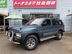 日産 テラノ V6-3000 R3M セレクションV サイドステップグリルガード背面タイヤマッドガード記録簿15枚1オーナー