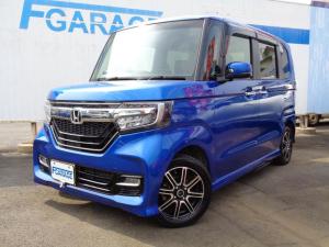 ホンダ N-BOXカスタム G・EXターボホンダセンシング 4WD ナビ 両側パワースライドドア