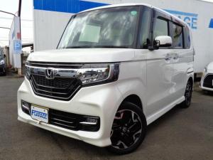 ホンダ N-BOXカスタム G・EXターボホンダセンシング 4WD 法人ワンオーナー 新車保証書付き
