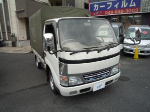 トヨタ ダイナトラック シングルジャストロー 幌付 Gパッケージ オートマ ファブリックシート