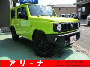 スズキ ジムニー XL セーフティーサポート ワンオーナー 4WD プッシュスタート フロントシートヒーター フォグライト オートリトラミラー 背面タイヤ