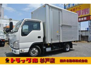いすゞ エルフトラック 積載2トン 標準 アルミドライバン 1年間・距離無制限保証