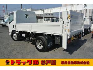いすゞ エルフトラック 積載3トン 全低床標準ロング 垂直PG 距離無制限1年保証