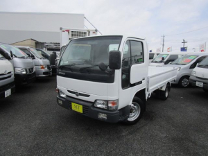 日産 アトラストラック ロングスーパーローDX オートマ Wタイヤ 1500Kg積載