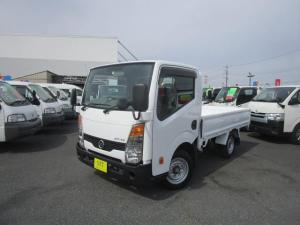 日産 アトラストラック ショートスーパーローDX シングルタイヤ 三方開き 1500Kg積載