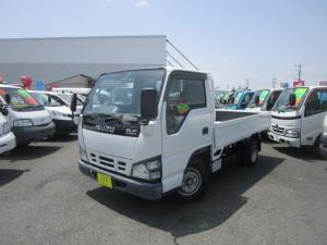 いすゞ エルフトラック フラットロー スムーサーシフト Wタイヤ 2000Kg積載