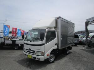 トヨタ ダイナトラック ジャストロー アルミバン Wタイヤ 1350Kg積載