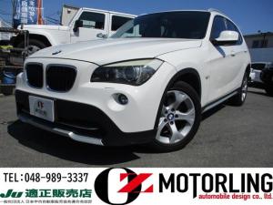 BMW X1 sDrive 18i レザーシート 純正HDDナビ フルセグ ミラーETC バックカメラ 新車保証書・記録簿