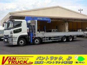 三菱ふそう スーパーグレート 5段クレーン 回送車 架装 ラジコン 積載12.4t