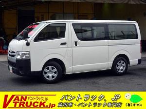 トヨタ レジアスエースバン ロングDX 5ドア ガソリン 6人乗 小窓 バックアイ 4型