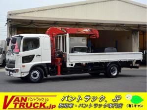 日野 ヒノレンジャー 増トン 標準幅 ベッド 4段クレーン 7.8t積 ラジコン